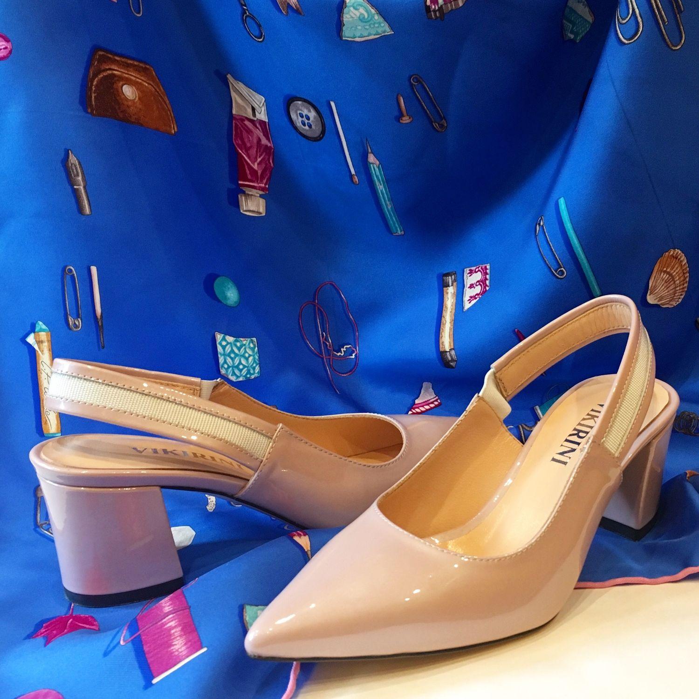 a737897b1630 Лаковые туфли, ручная работа, пудровый цвет – купить в интернет-магазине на  ...