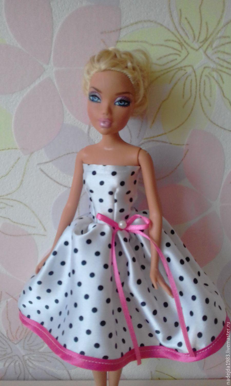 Как сшить платье для барби без барби 34