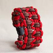 Украшения ручной работы. Ярмарка Мастеров - ручная работа Браслет из паракорда. Handmade.