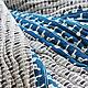"""Текстиль, ковры ручной работы. Ярмарка Мастеров - ручная работа. Купить Лоскутное покрывало """"Море волнуется раз!"""". Handmade. Белый"""