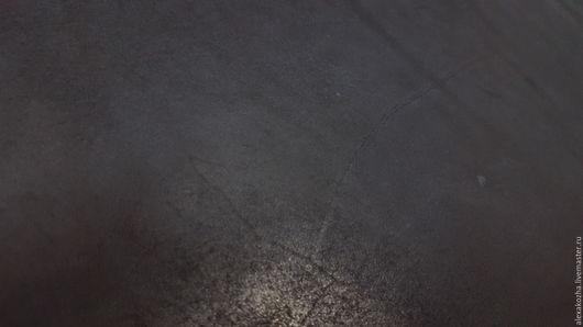 Шитье ручной работы. Ярмарка Мастеров - ручная работа. Купить Кожа натуральня Юфть шорно-седельная 3,0-3,2 КРС Черная. Handmade.