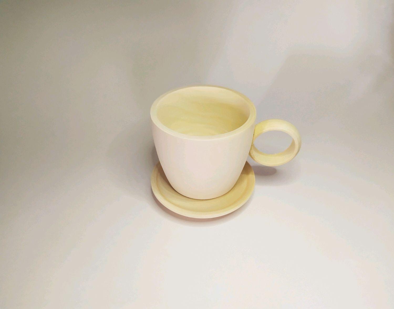 Чашка с блюдцем, Декор для декупажа и росписи, Вознесенское,  Фото №1