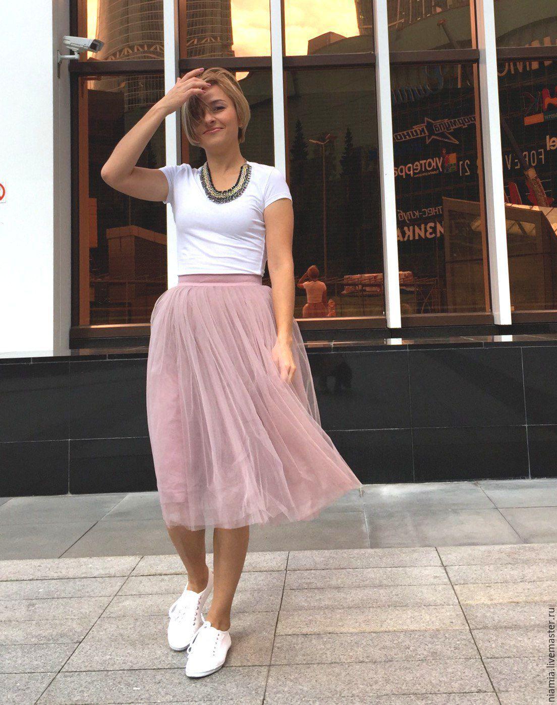 Пышные юбки с фатином