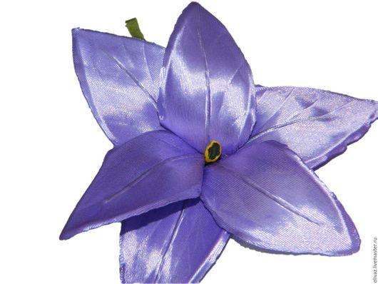 Цветы ручной работы. Ярмарка Мастеров - ручная работа. Купить Лилия брошь, заколка. Handmade. Комбинированный, букет цветов