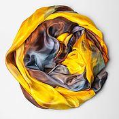 Аксессуары handmade. Livemaster - original item Batik silk stole