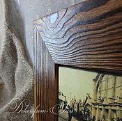 """Картины и панно ручной работы. Ярмарка Мастеров - ручная работа панно (рамка) деревянное """"Первый автомобиль"""". Handmade."""