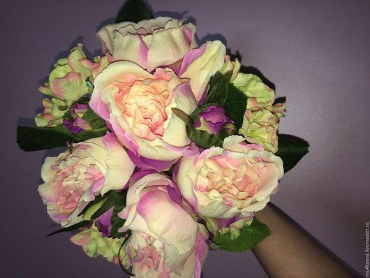Свадебные цветы ручной работы. Ярмарка Мастеров - ручная работа. Купить Свадебный букет-дублер. Handmade. Комбинированный, свадебные аксессуары