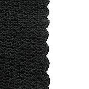 """Аксессуары ручной работы. Ярмарка Мастеров - ручная работа Снуд """"Черный"""", шарф, воротник. Handmade."""
