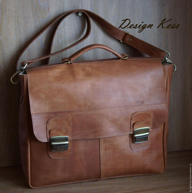 862c239b97b3 Купить Кожаный портфель