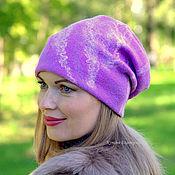 Аксессуары handmade. Livemaster - original item Hat felted feminine... Handmade.