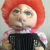 Куклы и игрушки handmade. Livemaster - original item Domovenok in a bag Lavrik. Handmade.