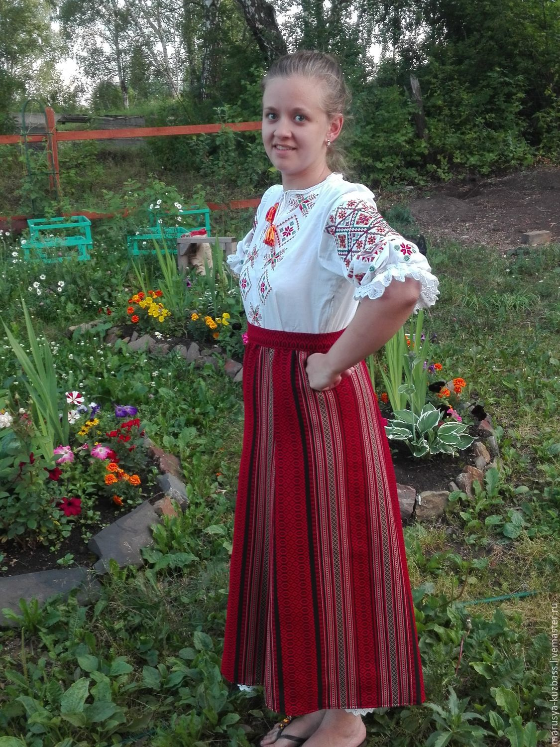 The skirt is woven, traditional ornament, Shirts, Kemerovo,  Фото №1