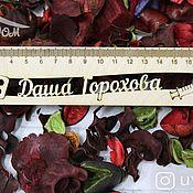 Канцелярские товары handmade. Livemaster - original item A wooden ruler with the name of the Medicine. Handmade.