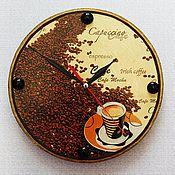 Для дома и интерьера ручной работы. Ярмарка Мастеров - ручная работа Часы Утренний кофе. Handmade.