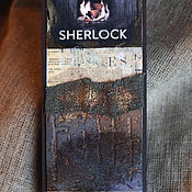 """Канцелярские товары ручной работы. Ярмарка Мастеров - ручная работа Закладки из коллекции """"Шерлок и Лондон"""" (№ 7). Handmade."""
