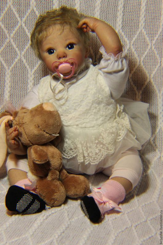 Куклы-младенцы и reborn ручной работы. Ярмарка Мастеров - ручная работа. Купить Кукла реборн девочка. Handmade. Кукла реборн