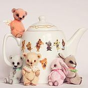Куклы и игрушки ручной работы. Ярмарка Мастеров - ручная работа Зайка Зефирка и компания). Handmade.
