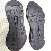 Материалы для творчества handmade. Livemaster - original item Sole for women`s sneakers, sneakers. Handmade.