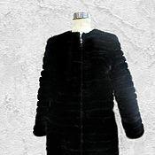 Одежда ручной работы. Ярмарка Мастеров - ручная работа Норковая куртка.. Handmade.