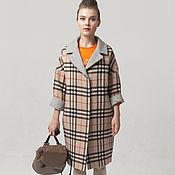 Одежда handmade. Livemaster - original item Coat oversized plaid from AMODAY. Handmade.