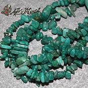Beads1 handmade. Livemaster - original item Amazonite, stone chips, thread 20 cm (natural stone). Handmade.