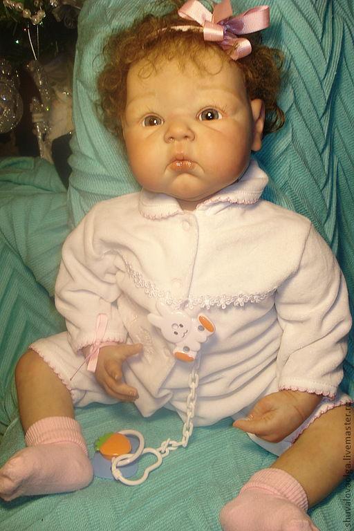 Куклы-младенцы и reborn ручной работы. Ярмарка Мастеров - ручная работа. Купить Кукла - реборн Анечка ( сделана на заказ ). Handmade.