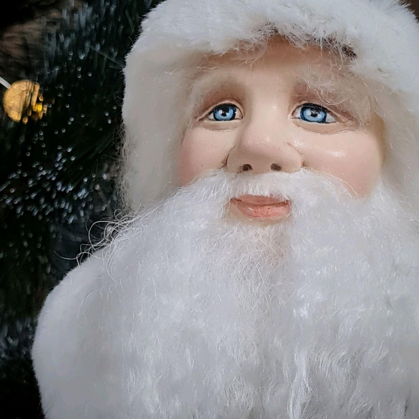 Дед Мороз Бордо с золотом 40 см, Интерьерная кукла, Севастополь,  Фото №1