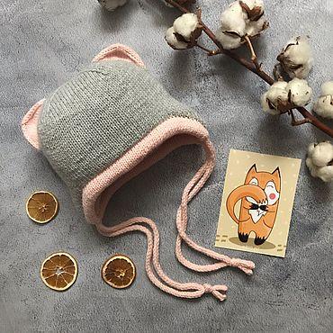 Товары для малышей ручной работы. Ярмарка Мастеров - ручная работа Шапка для девочки. Handmade.