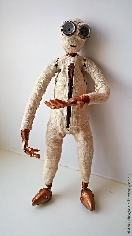 """Сказочные персонажи ручной работы. Ярмарка Мастеров - ручная работа. Купить Кукла Девятый из м /ф """"Девять"""". Handmade. Девятый"""