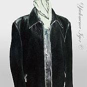 Одежда ручной работы. Ярмарка Мастеров - ручная работа Мужская куртка (нерпа). Handmade.