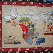 Куклы и игрушки ручной работы. Ярмарка Мастеров - ручная работа ЛОСКУТНОЕ ПАННО. Handmade.