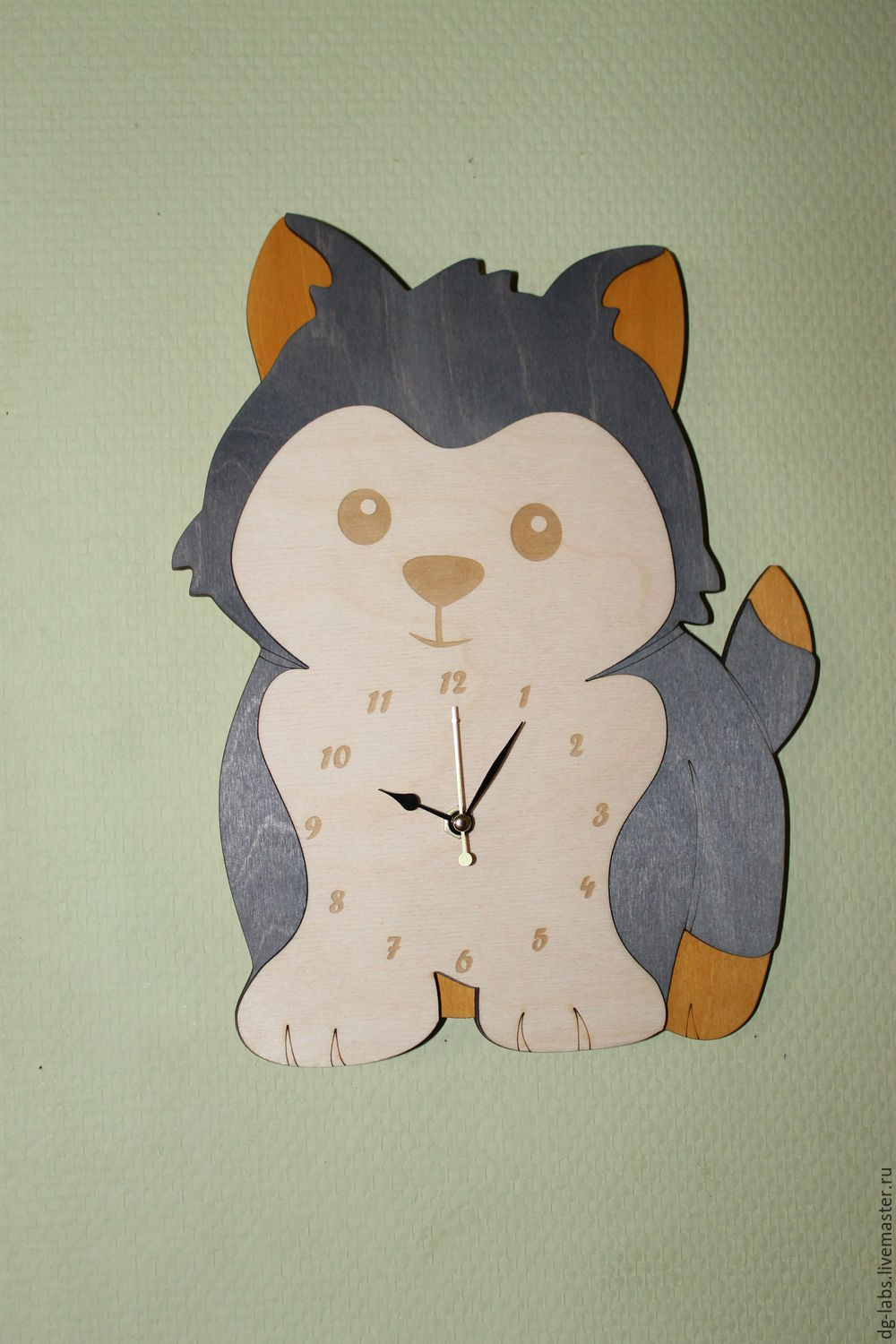 Wall clock Puppy, Watch, Moscow,  Фото №1