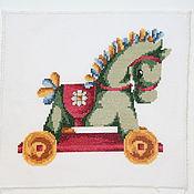 Картины и панно ручной работы. Ярмарка Мастеров - ручная работа лошадка. Handmade.