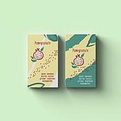 Дизайн ручной работы. Ярмарка Мастеров - ручная работа Дизайн логотипа и визитки. Handmade.
