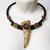 Украшения handmade. Livemaster - original item Necklace in the ethnic style of the Paleolithic. Handmade.