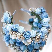 """Украшения ручной работы. Ярмарка Мастеров - ручная работа Цветочный ободок """"Золушка"""" Coronet of Flowers """"Cinderella"""". Handmade."""
