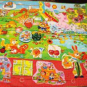 """Куклы и игрушки ручной работы. Ярмарка Мастеров - ручная работа Развивающий коврик """"Полянка"""". Handmade."""