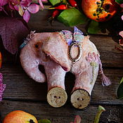 Куклы и игрушки ручной работы. Ярмарка Мастеров - ручная работа Индийский слоник. Handmade.