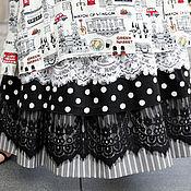 Платья ручной работы. Ярмарка Мастеров - ручная работа Подъюбник с 2-мя гипюровыми вставками. Handmade.