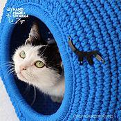 "Зоотовары handmade. Livemaster - original item Cat bed - Cat house ""Whale"". Handmade."