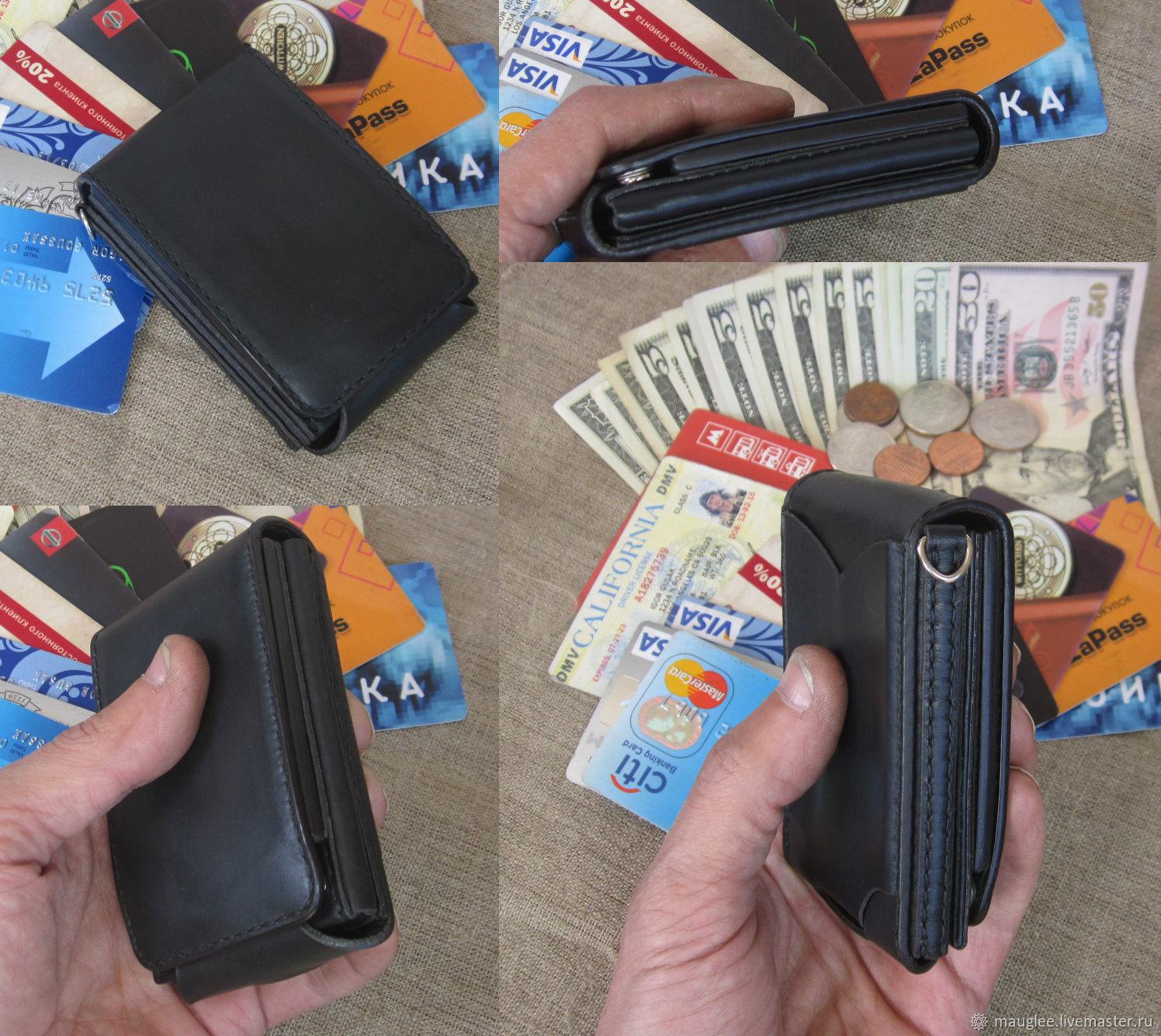 Copy of S-Fold! Compact wallet. RFID-Protection, Wallets, Nizhnij Tagil,  Фото №1