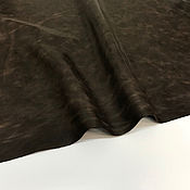 """Кожа ручной работы. Ярмарка Мастеров - ручная работа Кожа Пулл Ап """"31"""" коричневая 1,2-1,4 мм.. Handmade."""