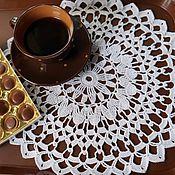 Для дома и интерьера handmade. Livemaster - original item 36 / COFFEE napkin decorative. Handmade.