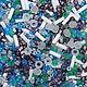 Japanese beads 'TOHO' mix No. №3229 10 g, Beads, St. Petersburg,  Фото №1
