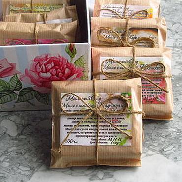 Косметика ручной работы. Ярмарка Мастеров - ручная работа Подарочный набор мыла РетроВесна, подарок 8 марта девушке женщине. Handmade.