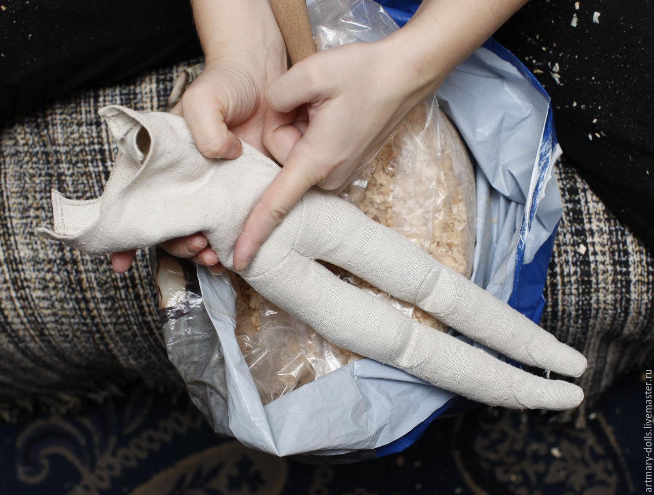 изготовления выкройка куклы для