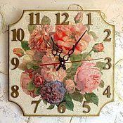 Часы классические ручной работы. Ярмарка Мастеров - ручная работа Часы настенные Английская гостиная. Handmade.