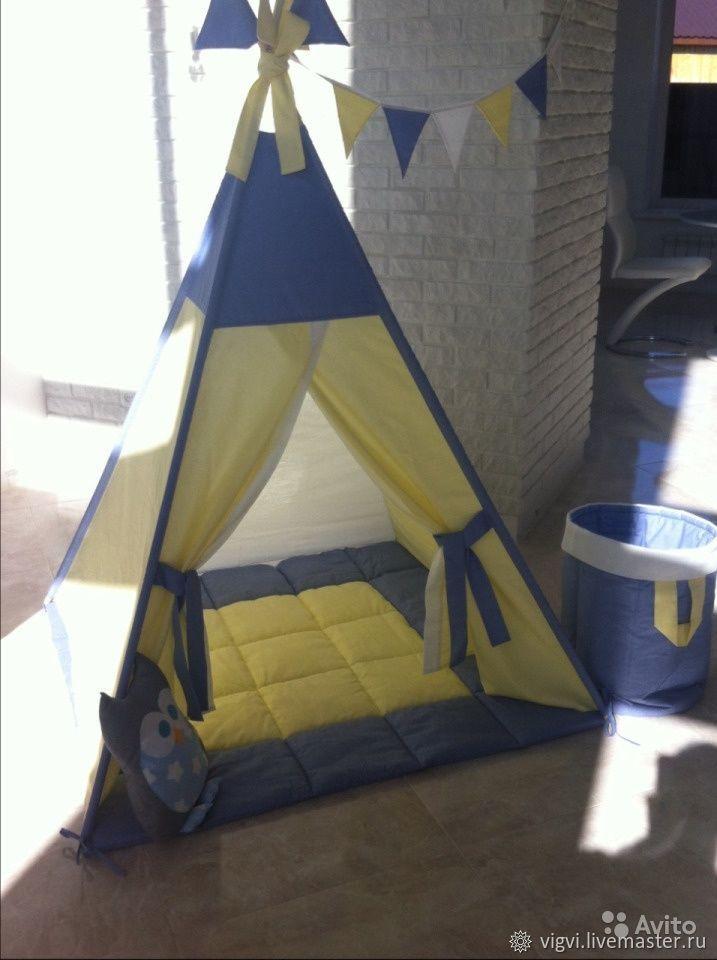 Вигвам- палатка для детей, Подарок новорожденному, Московский,  Фото №1