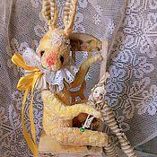 Куклы и игрушки ручной работы. Ярмарка Мастеров - ручная работа Желтая Коломбина. Handmade.