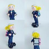 Подарки к праздникам handmade. Livemaster - original item Doll Tourist. Handmade.